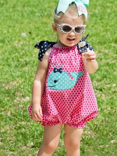 Baby Bubble Romper PDF Sewing Pattern - Whimsy Couture Products