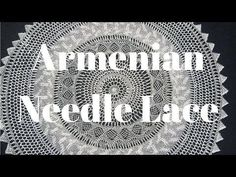 How to do Needle Lace (Part 6/8) - YouTube