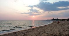 Sunset in Mati beach My Photos, Celestial, Sunset, Beach, Water, Places, Outdoor, Gripe Water, Outdoors
