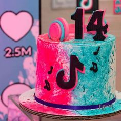 12th Birthday Party Ideas, 14th Birthday Cakes, Birthday Cakes For Teens, Cool Birthday Cakes, Birthday Parties, 8th Birthday, Fancy Cakes, Cute Cakes, Cakes For Teenagers
