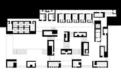 What a beautiful plan Therme Vals plan 01 / Peter Zumthor Drawings Peter Zumthor, Architecture Graphics, Architecture Drawings, Architecture Plan, Therme Vals, Plan Drawing, Designs To Draw, Floor Plans, How To Plan