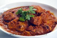 Butter Chicken: Rich and delicious spicy chicken cooked in butter.