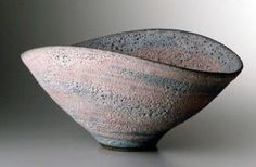 Large bowl with volcanic glaze (marbled) 1979 Lucie Rie Pottery Bowls, Ceramic Pottery, Pottery Art, Ceramic Clay, Ceramic Bowls, Japanese Pottery, Contemporary Ceramics, Sculpture, Tea Bowls