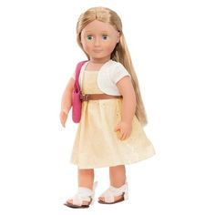 Deluxe Eyelet Dress Outfit - Our Generation™ : Target