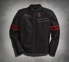 Casual is in the name of our Cobra Casual Moto Jacket. But that doesn't mean you leave style and your bad-boy attitude behind. | Harley-Davidson Men's Cobra Casual Moto Jacket