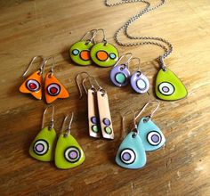 Cinnamon Jewellery: Enamel Experimenting And Gold!!