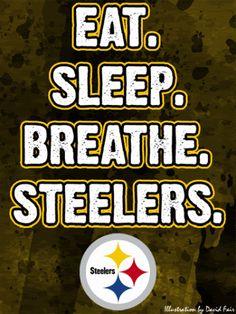 Steelers Fan all the wayy♥ TrueFan :)) Eat, Sleep, Breathe, Steelers. Pittsburgh Steelers Football, Pittsburgh Sports, Best Football Team, Football Season, Pittsburgh Pirates, Here We Go Steelers, Steelers Stuff, Steelers Fans, Steeler Nation