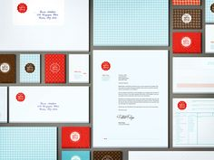 Branding Concept for a Bakery by Marina Sidorko, via Behance