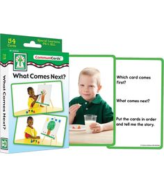 What Comes Next? Learning Cards $6.99