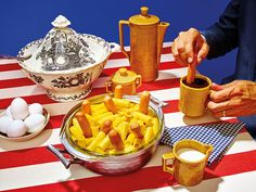 """Polka-Dotted Macaroni and Cheese."" Photo: Maurizio Cattelan and Pierpaolo Ferrari for The New York Times"