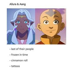 Those marks on allura aren't tattoos they are on every Altean but yea