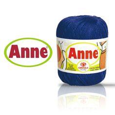 Linha Anne 500 Fio indicado para peças de vestuário em tricô manual e à máquina, assim como para trabalhos de decoração em crochê. Composição: 100% algodão mercerizado Contém: 500m Fabricante: Círculo