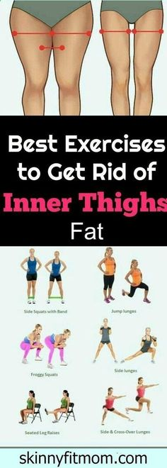 Belly Fat Workout - 8 Exercise That Will Burn Inner Thigh Fat, These exercises will help you to get rid fat below body and burn the upper and inner thigh fat Fast. by eva.ritz Do This One Unusual 10-Minute Trick Before Work To Melt Away 15+ Pounds of Belly Fat