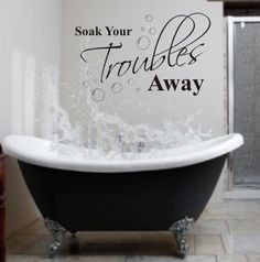 buy free shipping soak quote lettering words vinyl wall decal sticker decal bathroom 5 colours u