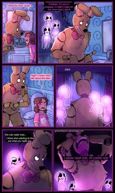 Springtrap and Deliah (Page 60) by GraWolfQuinn