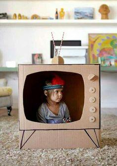 Kutudan tv çalışması