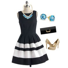 A fashion look from August 2013 featuring Closet dresses, rsvp pumps and Yves Saint Laurent clutches. Browse and shop related looks. Dressy Outfits, Fashion Outfits, Fashion Ideas, Yves Saint Laurent Clutch, Fashion Beauty, Fashion Looks, Business Attire, Retro Vintage, Style Inspiration