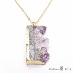 Karma And Luck Women goregous stone necklace. Sold exclusively at:http://www.karmaandluck.com/productdetails.php?productid=1180