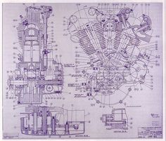 Engine drawing (1942)