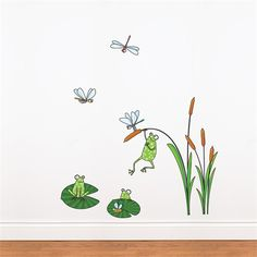 @Rosenberry Rooms is offering $20 OFF your purchase! Share the news and save!  Frogs Wall Decal #rosenberryrooms