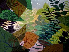 mary blair http://animationbackgrounds.blogspot.com/2007/11/alice-in-wonderland-autumn-leaves.html