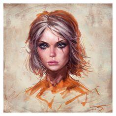 ArtStation - Ciri, Jude Smith