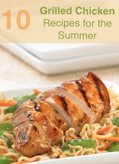 Time to break out the grill! Check out these grilled chicken recipes perfect for the summer.