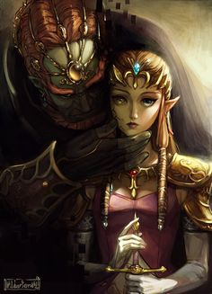 Puppet Zelda by Alderion-Al:This is amazingly done and utterly creepy...