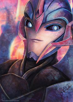 Arcee by *AuroraLion on deviantART