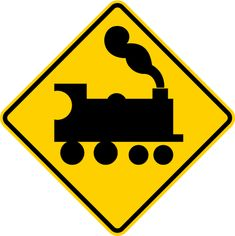 Train Signs - ClipArt Best