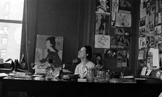 diana vreeland in her office - Google Search