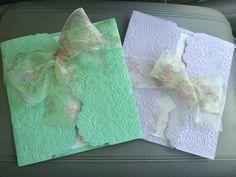 Anna Griffin Gatefold cards
