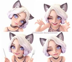 Ragdoll catty by Yinxuan Li Dezarmenien
