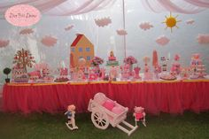 Peppa Pig Party Birthday Party Ideas | Photo 1 of 77 | Catch My Party