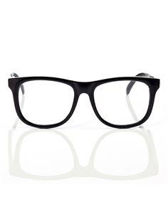 Mustachifier Black Clear Optical Baby Glasses by Mustachifier #zulily #zulilyfinds