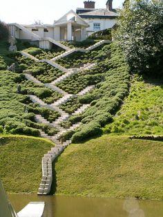 A história do universo através de um jardim,