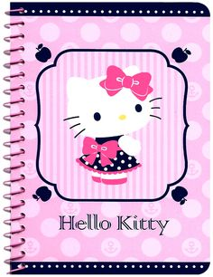 Sanrio Hello Kitty Sailor Girl Mini Notebook
