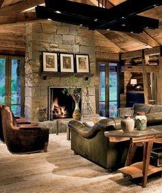 Stone ranch house https://www.quick-garden.co.uk/log-cabins.html
