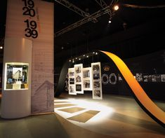A temporary exhibition celebrating the centenary of Australia's Commonwealth Bank called for the multi-disciplinary talents of creative agency Imagination. Exhibition Display, Exhibition Space, Australian Architecture, Architecture Design, Commonwealth Bank, Museum Plan, Theatre Design, Display Design, Experiential