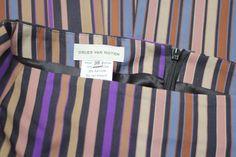 Dries Van Noten Striped Pencil Skirt Sz. S
