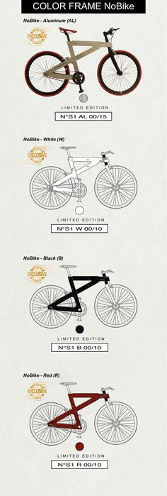 Are you looking for a bike that reflects your personality?  A bike that embodies your personal style and choice? With NoBike you can!