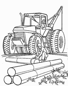 Pics Photos   Construction Coloring Page To Print And Color