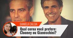 Coluna do dia 23/11/15: Qual coroa você prefere: Clooney ou Gianecchini?