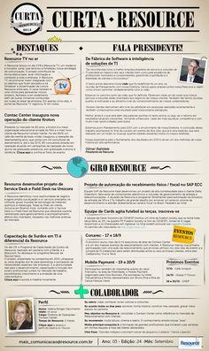Modelo da News - Curta Resource
