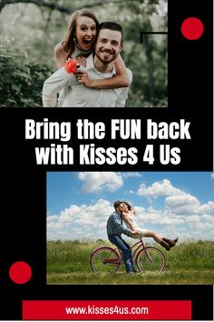 Kisses 4 Us will bring the FUN back to your Marriage!  Draw a Kiss Card and let the Fun begin...will you try a Creamy Kiss or a Trail Kiss?  Giggle and Smile as you try each one.  Guaranteed Fun..try it today!