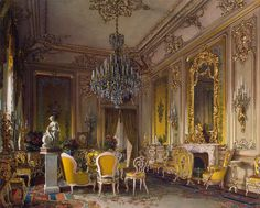 The Russian mansion of von Stieglitz: The Drawing-Room. 1870