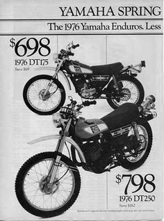 Enduro Yamaha.