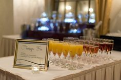Bar design and signage by Panache:  Events, Decor, Boutique.  Photography by Daniele Carol Photography