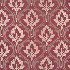Bordeaux Damask Decorator Fabric by Kasmir Surface Pattern Design, Textile Pattern Design, Textile Patterns, Pattern Art, Fabric Design, Print Patterns, Damask Patterns, Textiles, Drapery Fabric