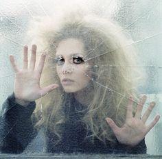girl glass Alex hair makeup model